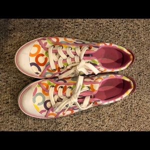 Women's Coach Sneakers Multicolored